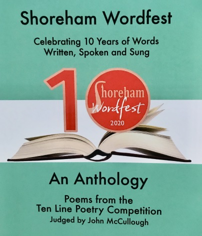 Shoreham Wordfest poetry anthology 2020 front cover